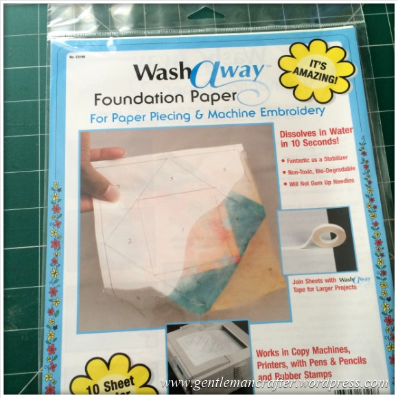 Fabric Friday - Further Adventures In Foundation Paper Piecing - 11