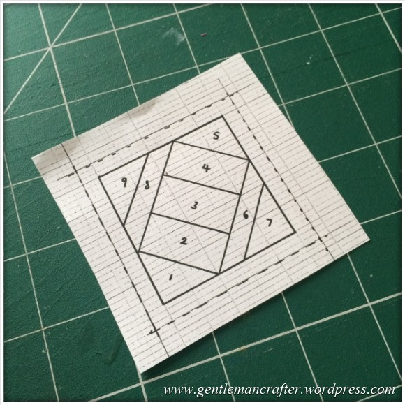 Fabric Friday - Further Adventures In Foundation Paper Piecing - 12
