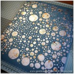 Monday Mash Up - A Metallic Bubble Effect Canvas - Finished Result 2