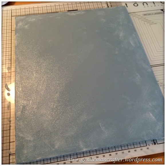 Monday Mash Up - A Metallic Bubble Effect Canvas - Painted Canvas