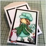 Stamp It Sunday - A Christmas Themed Artist Trading Card With Tiddly Inks Stamps - Featured Image