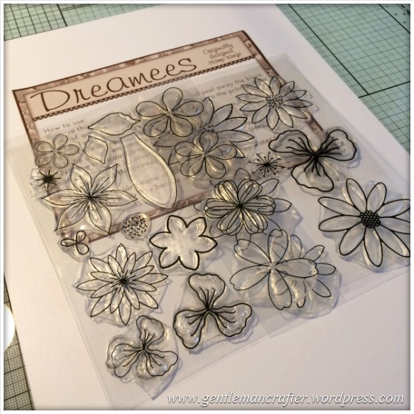 Dreamees Essential Flowers Stamp Set - Thinking Of You - Stamp It Sunday - 1