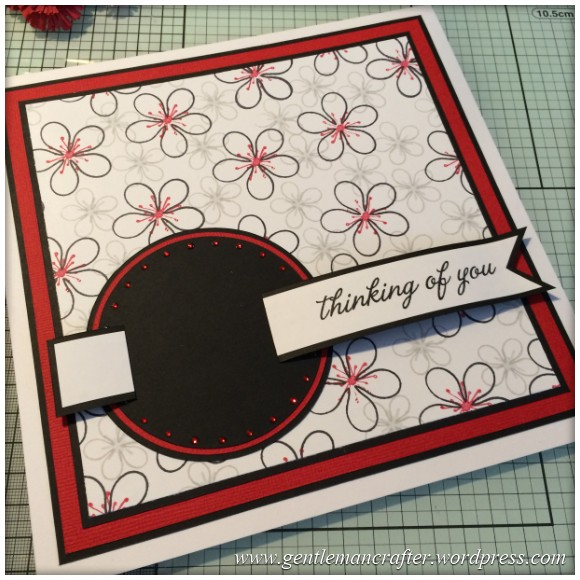 Dreamees Essential Flowers Stamp Set - Thinking Of You - Stamp It Sunday - 16