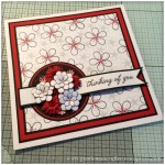 Dreamees Essential Flowers Stamp Set - Thinking Of You - Stamp It Sunday - 18