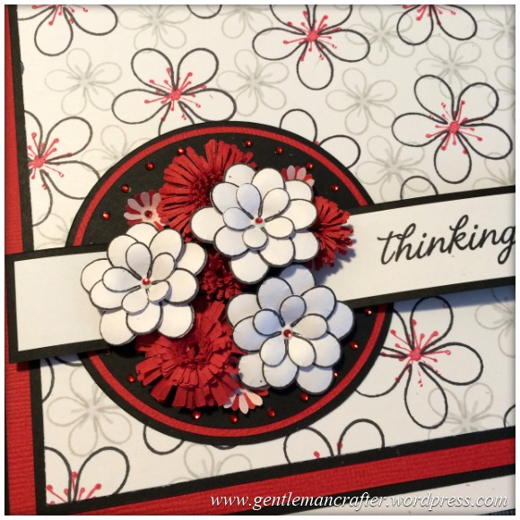 Dreamees Essential Flowers Stamp Set - Thinking Of You - Stamp It Sunday - 19