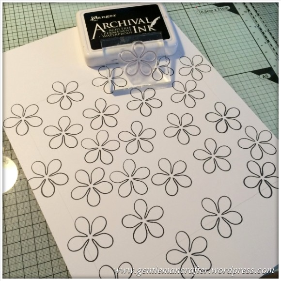 Dreamees Essential Flowers Stamp Set - Thinking Of You - Stamp It Sunday - 2