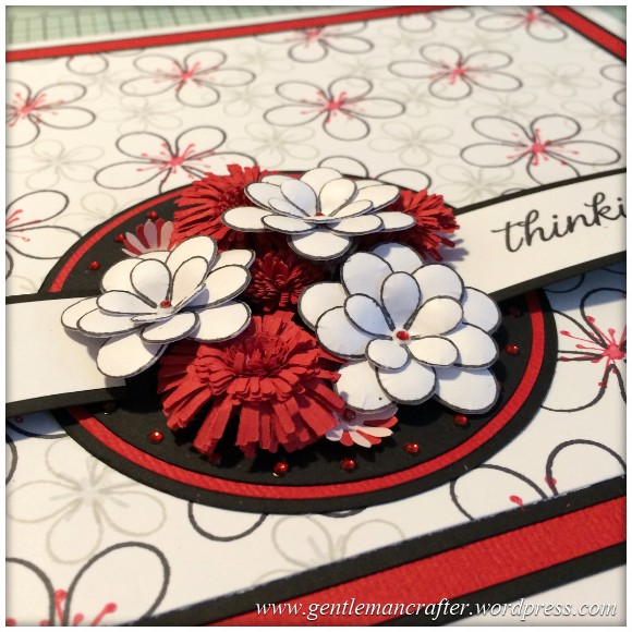 Dreamees Essential Flowers Stamp Set - Thinking Of You - Stamp It Sunday - 20