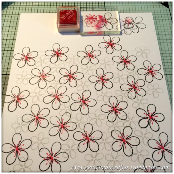 Dreamees Essential Flowers Stamp Set - Thinking Of You - Stamp It Sunday - 4