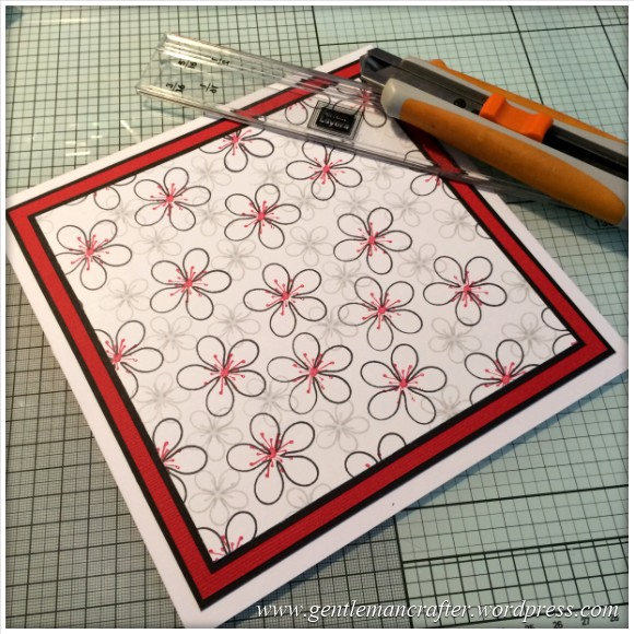 Dreamees Essential Flowers Stamp Set - Thinking Of You - Stamp It Sunday - 8
