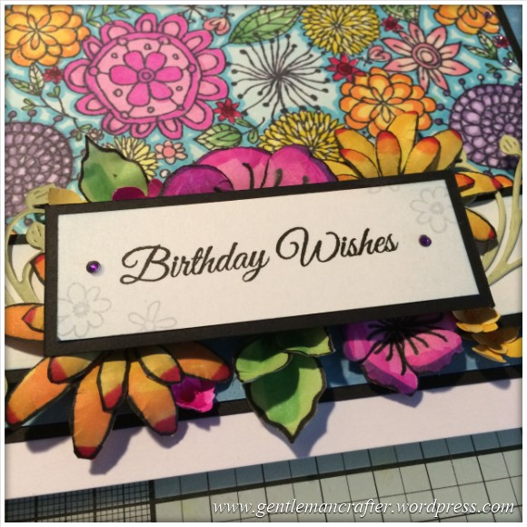 A Blossoming Birthday Card - 15