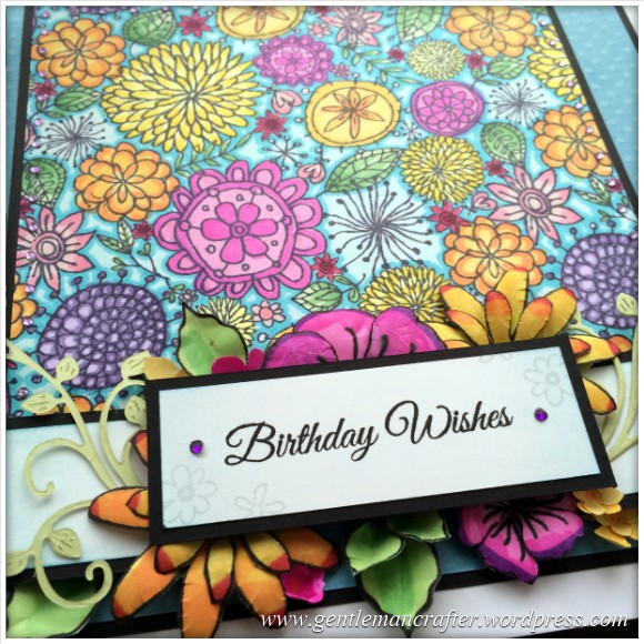 A Blossoming Birthday Card - 17