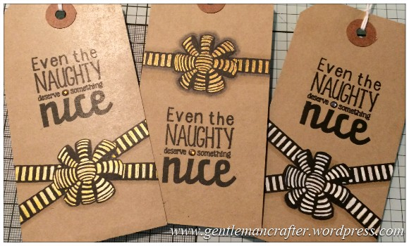 Kraft Card Christmas Gift Tags - 13
