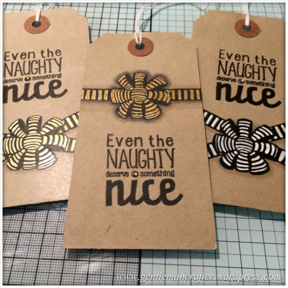 Kraft Card Christmas Gift Tags - 16