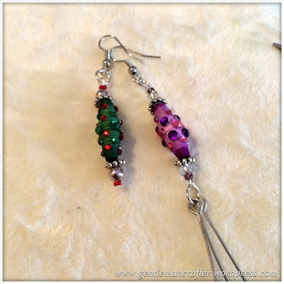 Paper Bead Tree Decorations - 10