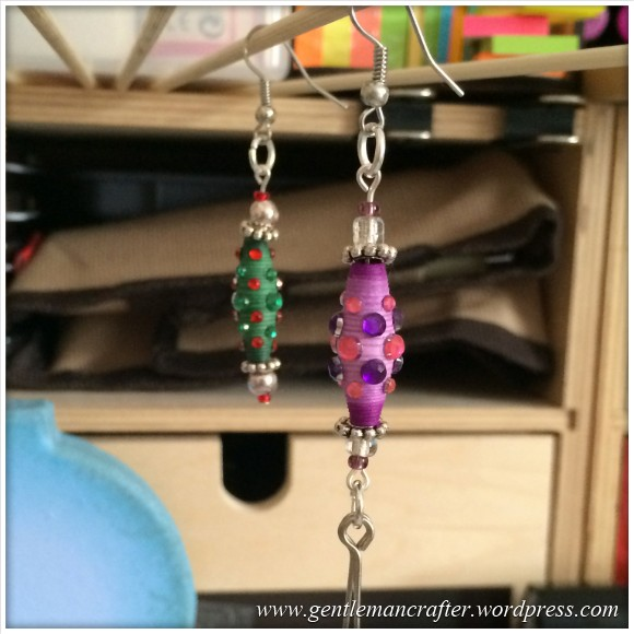 Paper Bead Tree Decorations - 11