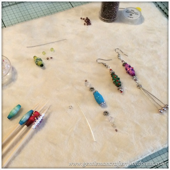 Paper Bead Tree Decorations - 12