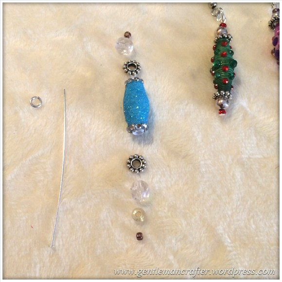 Paper Bead Tree Decorations - 14