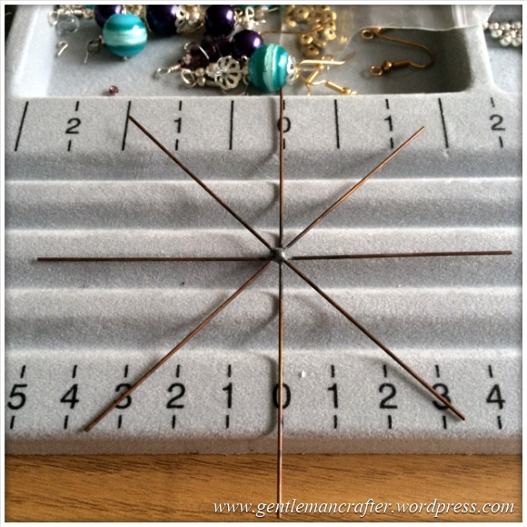 Beaded Snowflake - 2