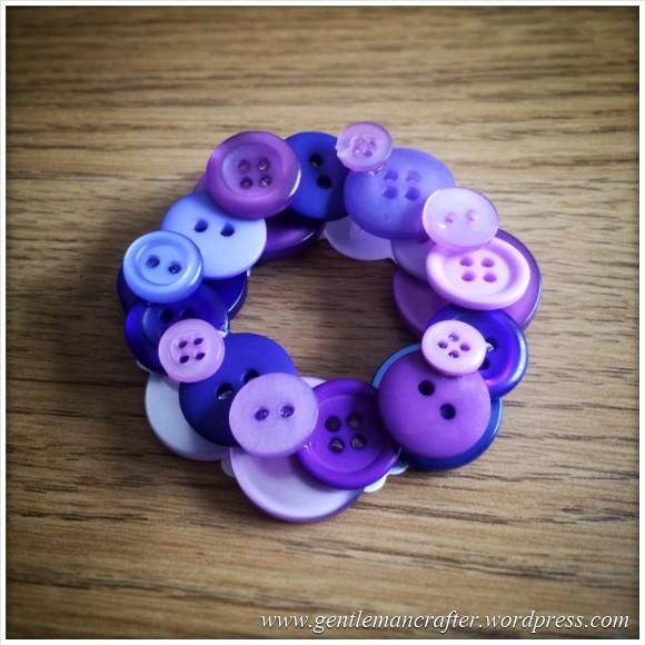 Button Wreath Bauble - 1