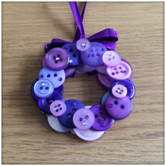 Button Wreath Bauble - 2