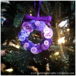 Button Wreath Bauble - 3