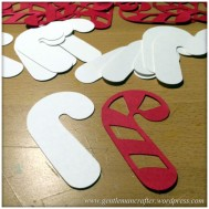 Candy Cane Cut Outs - 1