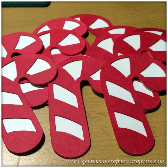 Candy Cane Cut Outs - 3