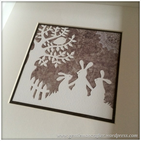 Christmas Handcut Paper Pictures - 2
