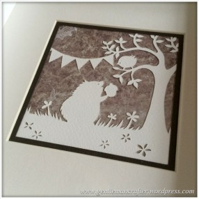 Christmas Handcut Paper Pictures - 3