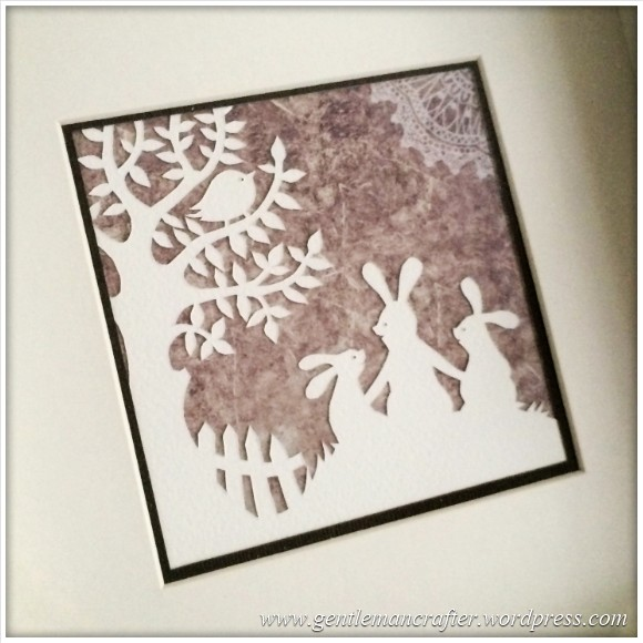 Christmas Handcut Paper Pictures - Featured