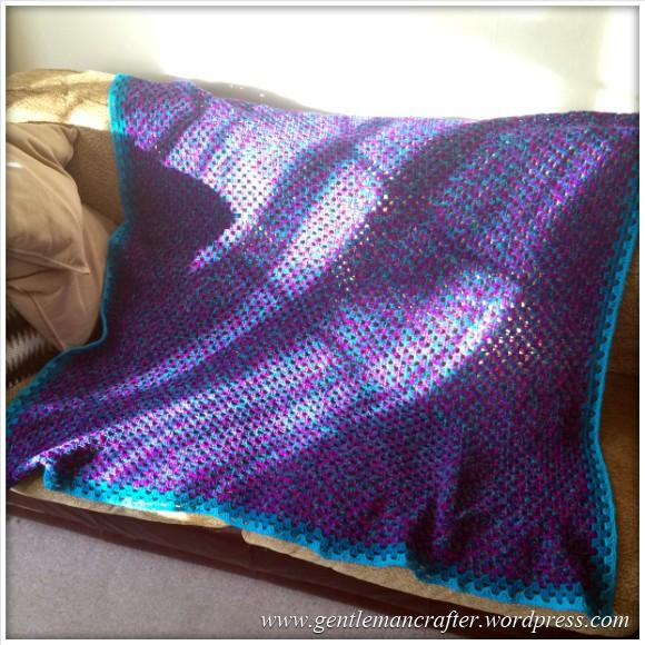 Giant Granny Square Blanket Crochet For Christmas - Part 2 - 1