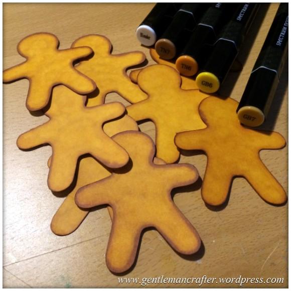 Ginger Bread Man Christmas Tree Decoration - 5