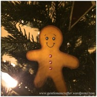 Ginger Bread Man Christmas Tree Decoration - 9
