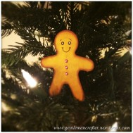 Ginger Bread Man Christmas Tree Decoration - Featured