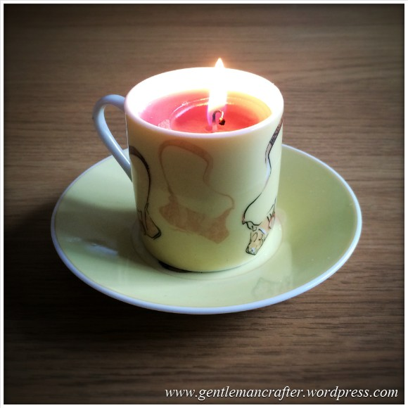 Hand Made Tea Cup Tealights - 3