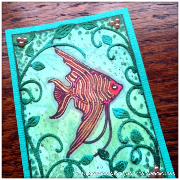 Artist Trading Card Daily - 17.1
