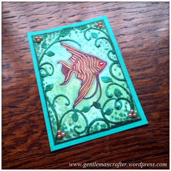 Artist Trading Card Daily - 17