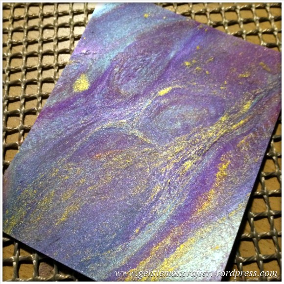 Making Galaxies With Embossing Powders - 1