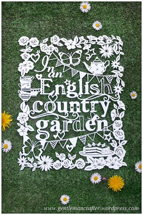 Worldwide Wednesday - Julene Harrison Paper Artist - Garden