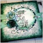 A Mixed Media Canvas Creation by Gentleman Crafter - 1