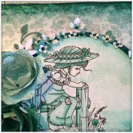 A Mixed Media Canvas Creation by Gentleman Crafter - Slideshow - 6