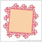 Free SVG Cutting File Heart Frame