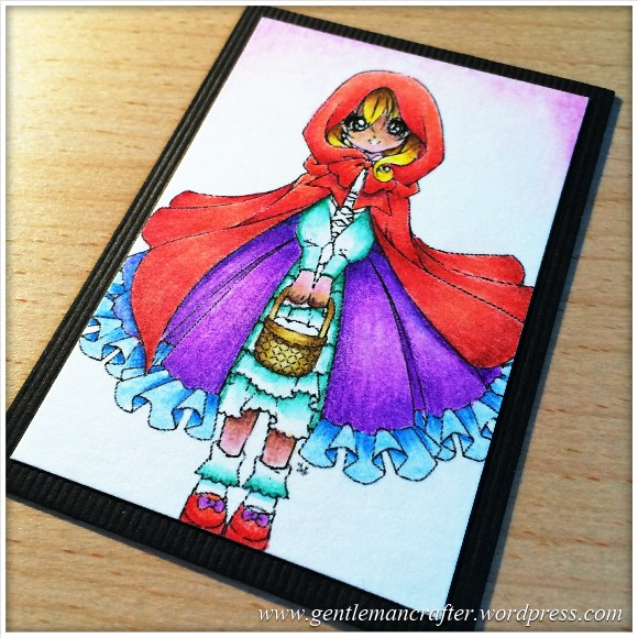 Artist Trading Card Daily 96 Using Spectrum Noir Pencils