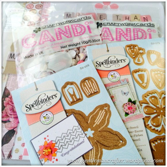 Craftwork Cards and Spellbinders Bargains from Monday Morning Craftiness