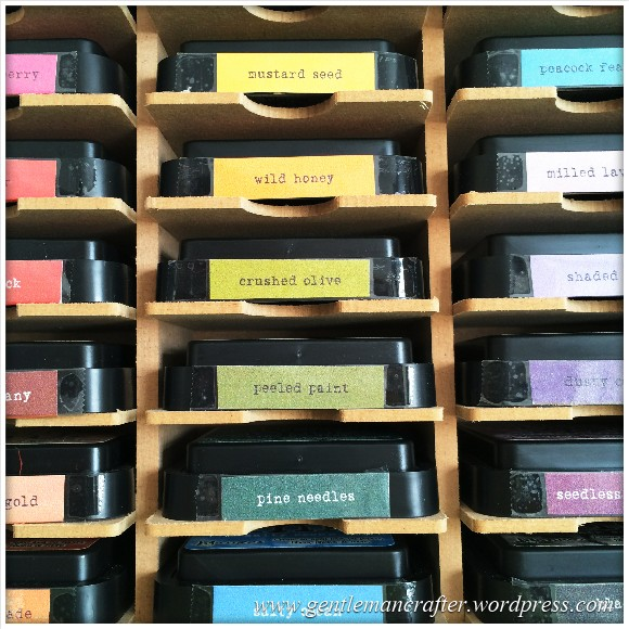 Neatly Organised Tim Holtz Distress Inkpads