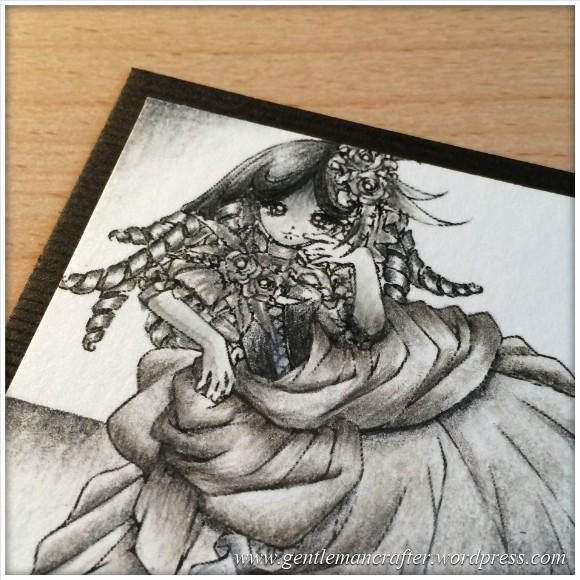 Artist Trading Card Daily 97 - Using Lyra Pencils 2