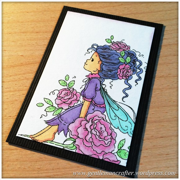 Artist Trading Card Daily 98 - Wee Fairy With Pro Markers 1