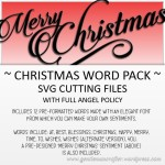 Christmas Word Pack Featured Image