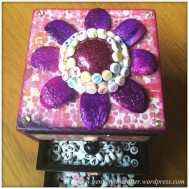 Decorating A Set Of MDF Drawers With Craftwork Cards Paper - 12