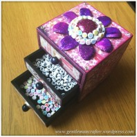 Decorating A Set Of MDF Drawers With Craftwork Cards Paper - 15 (1)